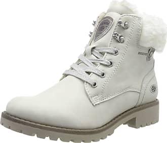 Dockers by Gerli 43fa308, Womens Combat Boots, White (Ice 260), 8 UK (41 EU)