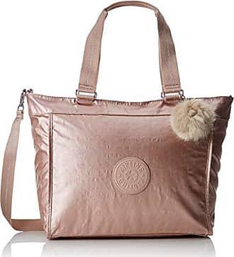 eacec83c0 Kipling New Shopper L, Bolsos totes Mujer, Dorado (Metallic Blush), 17.5