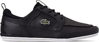 Lacoste Mens Marina Casual Shoes, Black