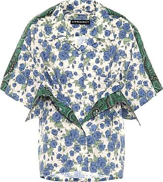 Y / Project Floral cotton shirt