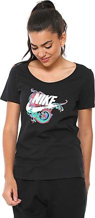 Nike Camiseta Nike Sportswear Nsw Tee Scoop Stm Preta 2c0fdf0c82672