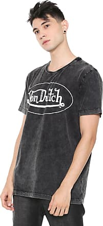 Von Dutch Camiseta Von Dutch Eclipse Line Preta