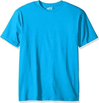Gold Toe Mens Cotton Stretch T-Shirt, Sapphire, Medium