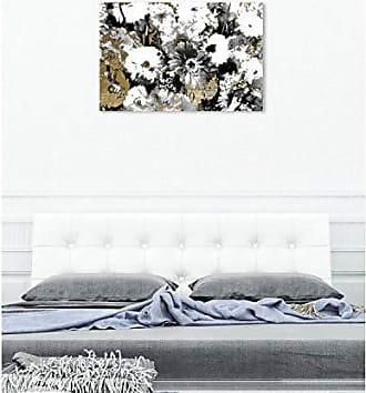 The Oliver Gal Artist Co. The Oliver Gal Artist Co. Wall Art Canvas Prints Golden Floral Adore Home Décor, 45 x 30, Black, Gold