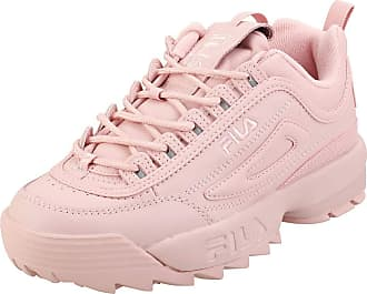 Fila Disruptor 2 Autumn Womens Fashion Trainers in Pink - 7 UK