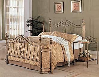 Coaster Fine Furniture Sydney Queen Bed Antique Brushed Gold