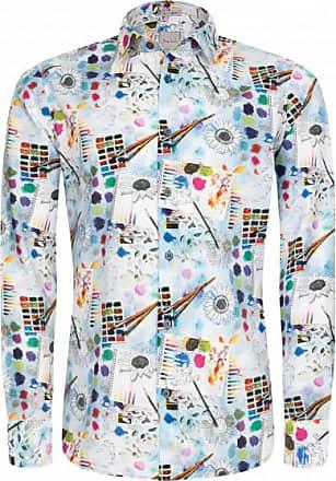 Signum Herren Hemd Art Edition! ICON Shirt mit Sommerprint