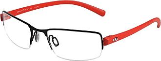 HB Óculos de Grau Hb Duotech 93405/58 Preto/laranja Fosco