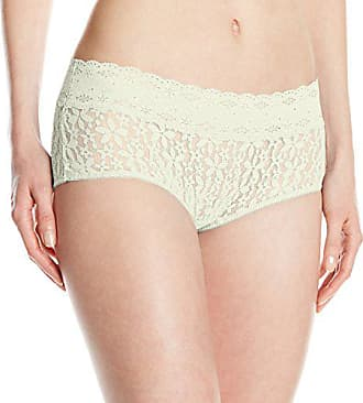 Wacoal Womens Halo Boy Short Pant, Ivory, Medium