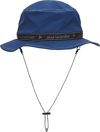 And Wander And wander Jq tape bucket hat BLUE U