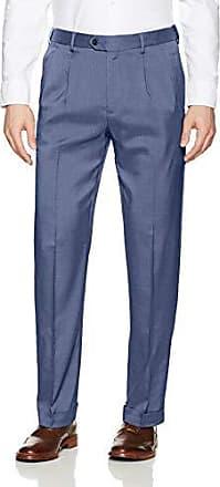 Savane Mens Pleated Micro Melange Dress Pant