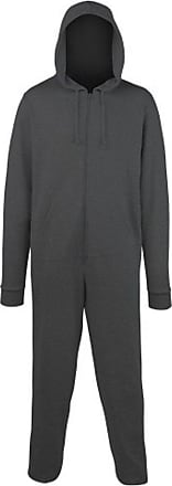 Undercover Comfy Co All in One - Onesie CC001 Charcoal XXL
