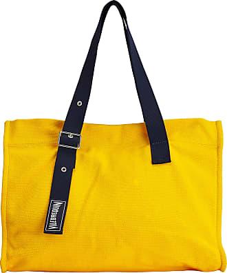 Vilebrequin Accessories - Big Cotton Beach Bag Solid - BEACH BAG - BAGSU - Orange - OSFA - Vilebrequin
