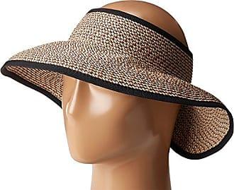 e3d1c969503 San Diego Hat Company Womens Ultrabraid Visor with Ribbon Binding