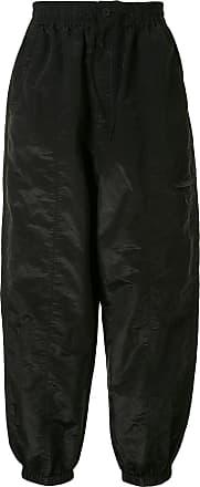 Yohji Yamamoto Calça pantalona - Preto
