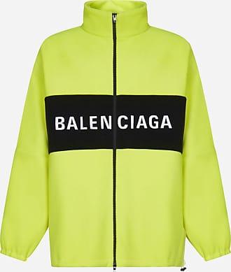 Balenciaga Logo wool oversized tracksuit-style jacket - BALENCIAGA - man