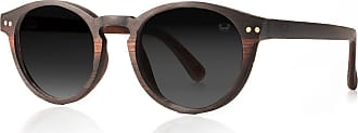 Fresh for Pandas Multilayered Rosewood, Carbon Fibre and Ebony sunglasses, Polarised Lenses