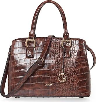L.Credi Faux leather bag L. Credi brown