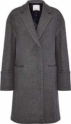 3.1 Phillip Lim 3.1 Phillip Lim Woman Brushed Wool-blend Coat Gray Size 6