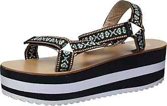 Yoki Womens ZOEY-07 Flat Sandal, Black, 5.5 UK
