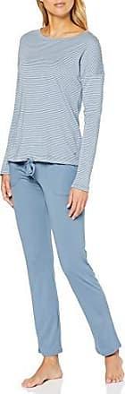 Marc O/'Polo Body /& Beach Damen W-loungeset Ls Henley Zweiteiliger Schlafanzug