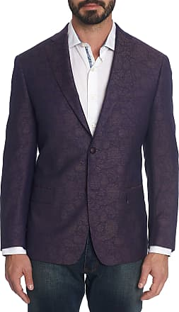 Robert Graham Mens Randall Paisley Sport Coat In Purple Size: 38R by Robert Graham