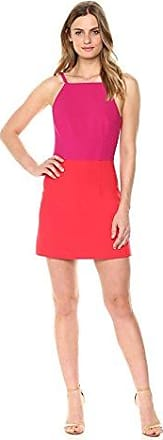6 Flame V-Neck French Connection Womens Whisper Light Sleeveless Strappy Stretch Mini Dress