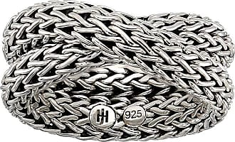 John Hardy Classic Chain Intersect Chain Ring (Silver) Ring