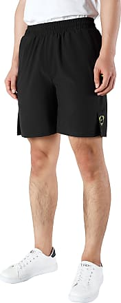 Jeansian Mens Sport Quick-Dry Breathable Basketball Running Training Shorts Pants Summer LSS236 Black XL