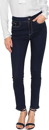 Enna Calça Jeans Enna Cigarrete High Azul