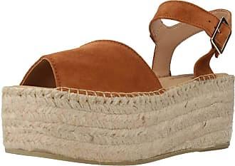 Yellow Women Sandals and Slippers Women 94799 Brown 3.5 UK