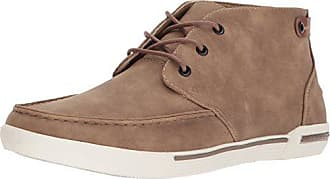 Unlisted by Kenneth Cole Mens Drop UR Anchor Boat Shoe, Taupe Nubuck, 11.5 M US