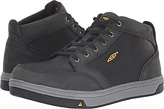 a43f35f55c8 Keen Mens Redding MID at Industrial Shoe, Slate/Black, 15 D US