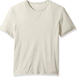 AG - Adriano Goldschmied Mens Ramsey Short Sleeve Vintage Jersey Crew, Weathered Mineral Veil, L