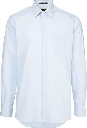 Durban Camisa slim - Azul
