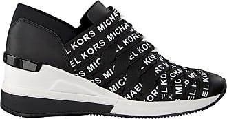 76076c1d258 Michael Kors Zwarte Michael Kors Sneakers Cydney Trainer