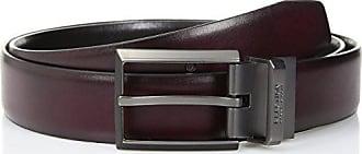 Kenneth Cole Reaction Mens Reversible Dress Belt, burgundy/black, 36