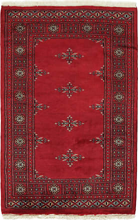 Nain Trading 117x78 Handknuten Pakistan Buchara 3ply Matta Dark Brown/Purple (Ylle, Pakistan)