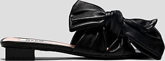 Msgm sliders with bow detailing
