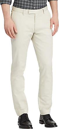 3aa36e8674ed Polo Ralph Lauren Pantalon chino en coton stretch slim fit Beige Polo Ralph  Lauren
