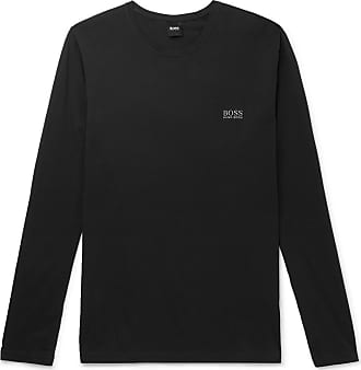 9283ca48b HUGO BOSS Stretch-cotton Jersey T-shirt - Black