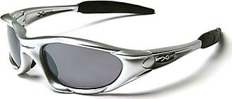 X Loop New X LOOP Mens Or Ladies Sport Sunglasses (SILVER/BLACK ARM)