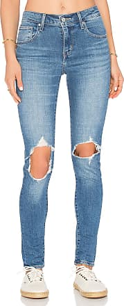 Levi's 721 High Rise Skinny in Blue