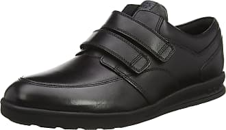 Kickers Mens Troiko Strap Black Leather Boots