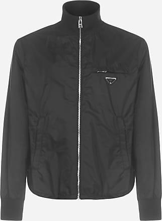 Prada Logo-plaque nylon Piuma jacket - PRADA - man