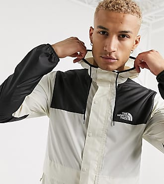 The North Face 1985 Seasonal Mountain jacket in cream Exclusive at ASOS