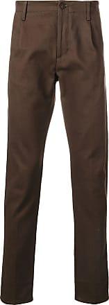 Fortela Calça de alfaiataria cenoura - Marrom