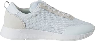 Tommy Jeans Mens Flexi Flag Sneaker Low-Top, White (White Ybs), 9 UK