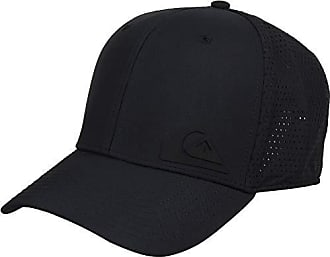 Quiksilver Mens TECHNABUTTER 2 Trucker HAT, Black, 1SZ