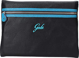Gabs GABS COSMETIC HOLDER CLOSED by ZIP all in black leather GPACKET